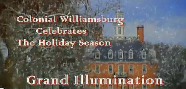 Williamsburg Grand Illumination Video